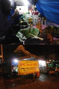 Sate KMS. Maaf, lagi laper, makan dulu baru moto 'bekas' satenya. 18 Agustus 2014.