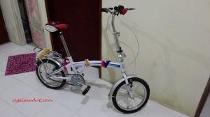 Sepeda lipat ring 16