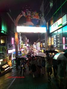 Takeshita Street, Harajuku, Japan. 6 September 2015.